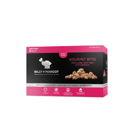 Billy + Margot Gourmet Bites Frozen Dog Treats - With Lamb, Peas & Blueberries - Frozen In Store Only
