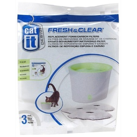 Catit Replacement Filters for 3 Litre Fresh & Clear Fountain