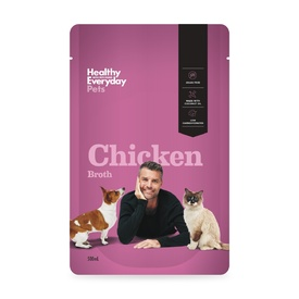 Healthy Everyday Pets by Pete Evans Chicken Bone Broth for Cats & Dogs - 500mL