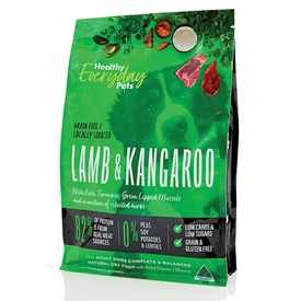 Healthy Everyday Pets by Pete Evans Grain Free Dry Dog Food - Kangaroo & Lamb 6kg