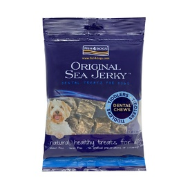 Fish 4 Dogs Sea Jerky Tiddlers 100% Fish Treats