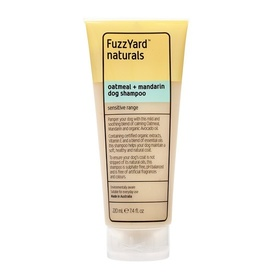 Fuzzyard Oatmeal & Mandarin Sensitive Skin Shampoo for Dogs 220ml