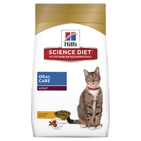Hills Science Diet Adult Oral Care Dry Cat Food