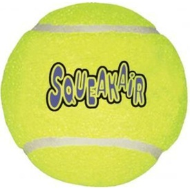 KONG AirDog Squeaker Tennis Balls - Single Pack