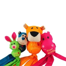 Kong Wubba Ballistic Friends Tug & Squeak Dog Toys