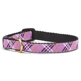 Up Country Lavender Lattice Cat Collar with Breakaway Safety Release