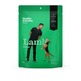 Healthy Everyday Pets by Pete Evans Grain Free Treats for Cats & Dogs - Lamb Bites 50g
