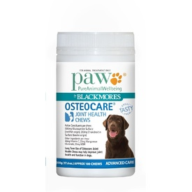 PAW Osteocare Dog Joint Health Chews with Kangaroo 300g/500g