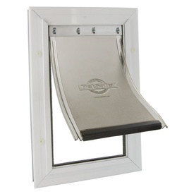 Petsafe Staywell Aluminium Pet Door for Wooden Doors and Walls - includes Flexible Flap