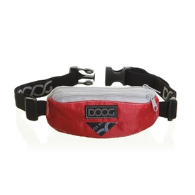 DOOG Hands-Free Dog Walking Mini Belt in Red