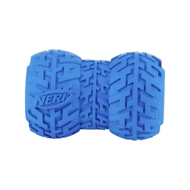 Nerf Dog Toy - Small Tire Feeder Blue