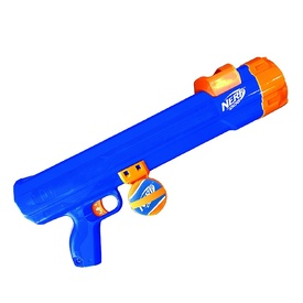 Nerf Dog Blaster Ball Launching Dog Toy - Great for Long Distance Chucking!