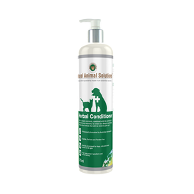 Natural Animal Solutions Herbal Conditioner for Cats & Dogs 375ml