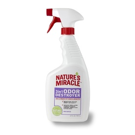 Nature's Miracle 3-in-1 Unscented Dog Odor Destroyer 709ml