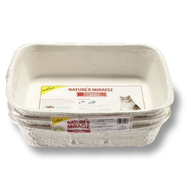 Nature's Miracle Disposable Litter Box - 3-Pack