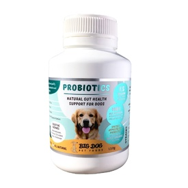 Big Dog Naturally Probiotic Powder - Natural Gut Health Support for Dogs - 150g