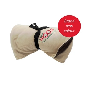 Snooza Polar Fleece Blanket for Pets - New Colour - Sand & Chocolate