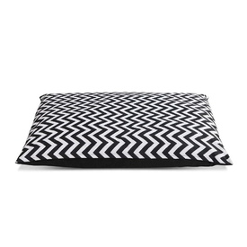 Heavy Duty Water Resistant Chevron Dog Bed
