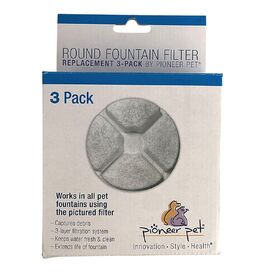 Replacement Filters for the Pioneer Pet Vortex Fountain