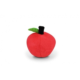 PLAY Garden Fresh Plush & Squeaky Toy for Dogs - Red Apple