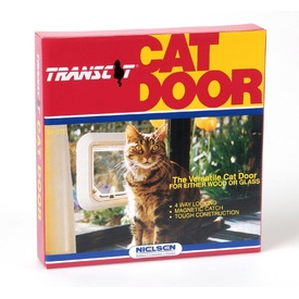 Transcat Cat Door - White