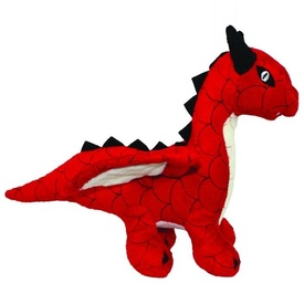 Mighty Red Dragon Dog Toy by Tuffy