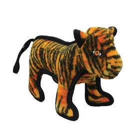 Tuffy Zoo Animals - Tatters the Tiger Tough Dog Toy