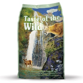 "Taste of the Wild ""Rocky Mountain"" Feline Dry Food with Venison & Salmon"