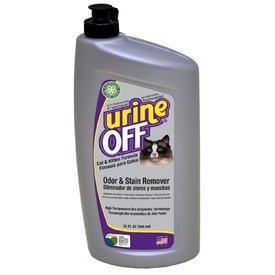 Urine Off Odour & Stain Remover Spray for Cat & Kitten Pee - 946ml