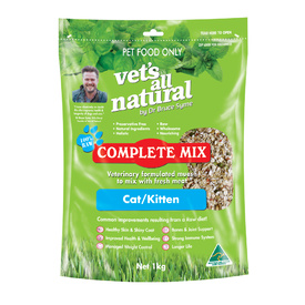 Vets All Natural Complete Mix for Cats & Kittens