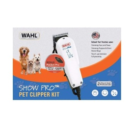 Wahl Show Pro Pet Clipper Kit with *BONUS* Pocket Pro Trimmer