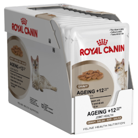 Royal Canin Feline Ageing +12 in Gravy x 12 Pouches