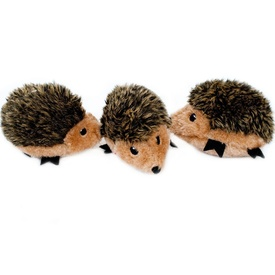 Zippy Paws Burrow Dog Toy Refill 3-Pack of Replacement Hedgehogs