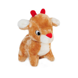 Zippy Paws Christmas Deluxe Dog Toy - Reindeer
