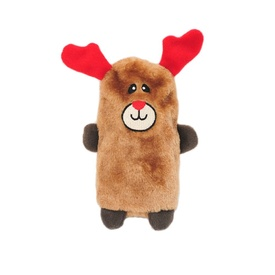 Zippy Paws Colossal Buddie Christmas Squeaker Toy for Dogs - Reindeer