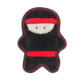 Zippy Paws Z-Stitch Warriorz No Stuffing Dog Toy - Nobu the Ninja