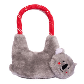 Zippy Paws RopeHangerz Plush & Rope Dog Toys - Koala