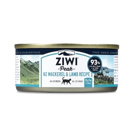 Ziwi Peak Moist Cat Food - Mackerel & Lamb - 85g x 24 Cans