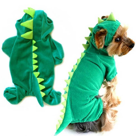 Dinosaur Onesie Costume for Cats or Dogs - Perfect For Parties or Halloween!