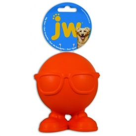 JW Hipster Cuz Squeaking Dog Toy