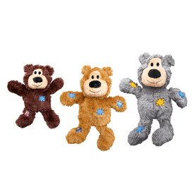 KONG Wild Knots Bear - Tug & Snuggle Plush Dog Toy