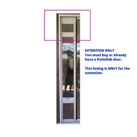 Patiolink Custom Height Extension ONLY up to 3m - DOOR SOLD SEPARATELY