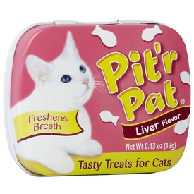 Pit'r Pat Fresh Breath Liver Treats for Cats & Kittens