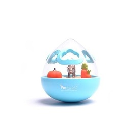 PLAY Wobble Ball Interactive Treat Dispensing Dog Toy [Colour: Blue]