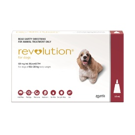 Revolution Flea & Worm Control for Dogs 10.1-20kg