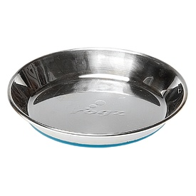 Rogz Anchovy Stainless Steel Non-Slip Shallow Cat bowl