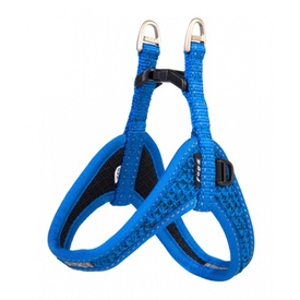 Rogz Fast Fit Ergonomic Step-In Dog Harness - Blue