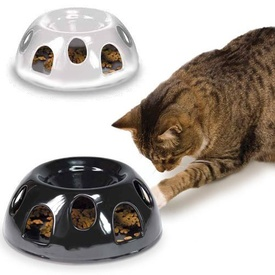 Tiger Diner Interactive Ceramic Slow Food Bowl for Cats by SmartCat