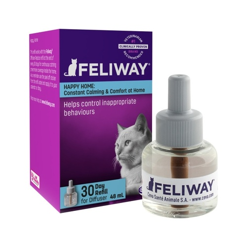 Feliway Calming Pheromone for Cats - 48ml Refill Bottle for Plug in Diffuser main image