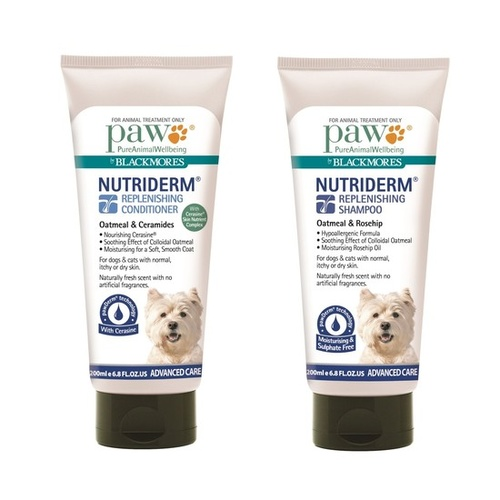 PAW by Blackmores Nutriderm Duo Pack (Shampoo and Conditioner)